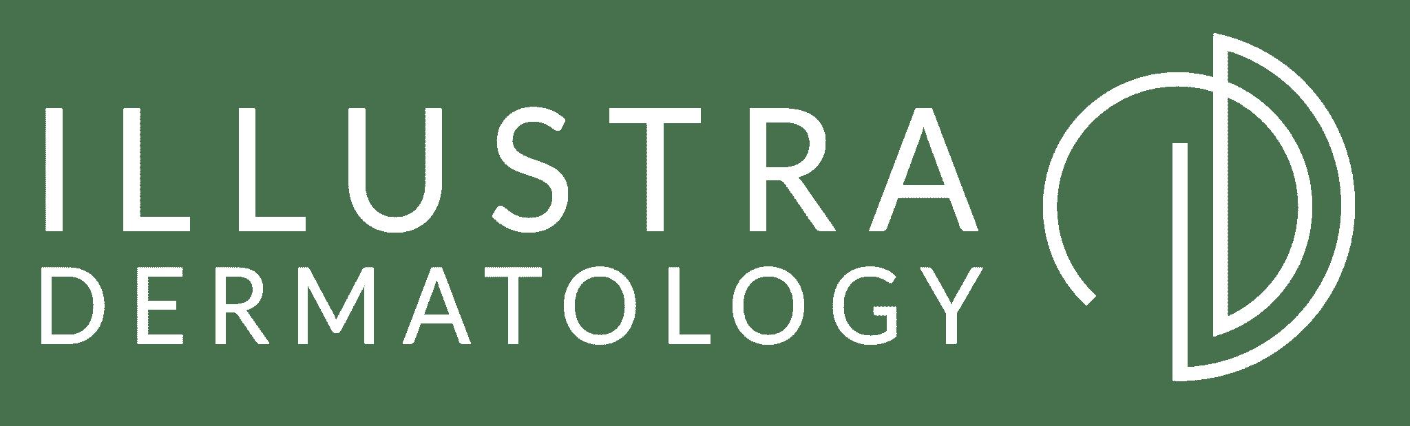 illustra dermatology logo white